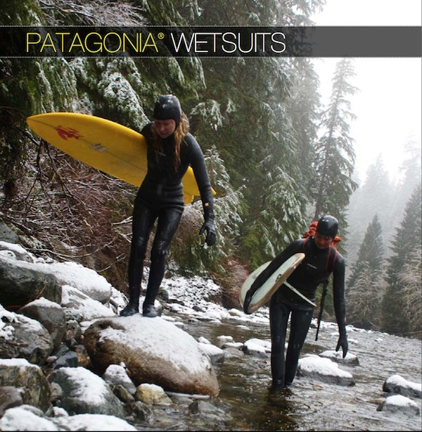 Patagonia winter wetsuits 2010
