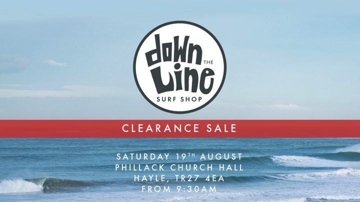 Clearance Sale at Down the Line Surf Co