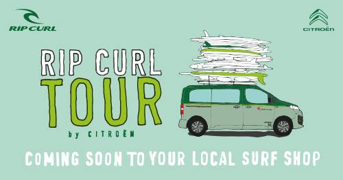 Rip Curl and Citroen Tour in Hayle