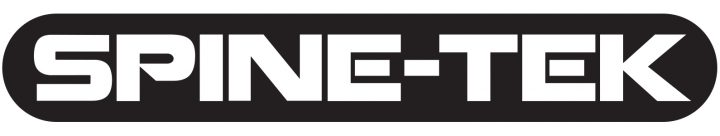 Spine-Tek logo. Black and White