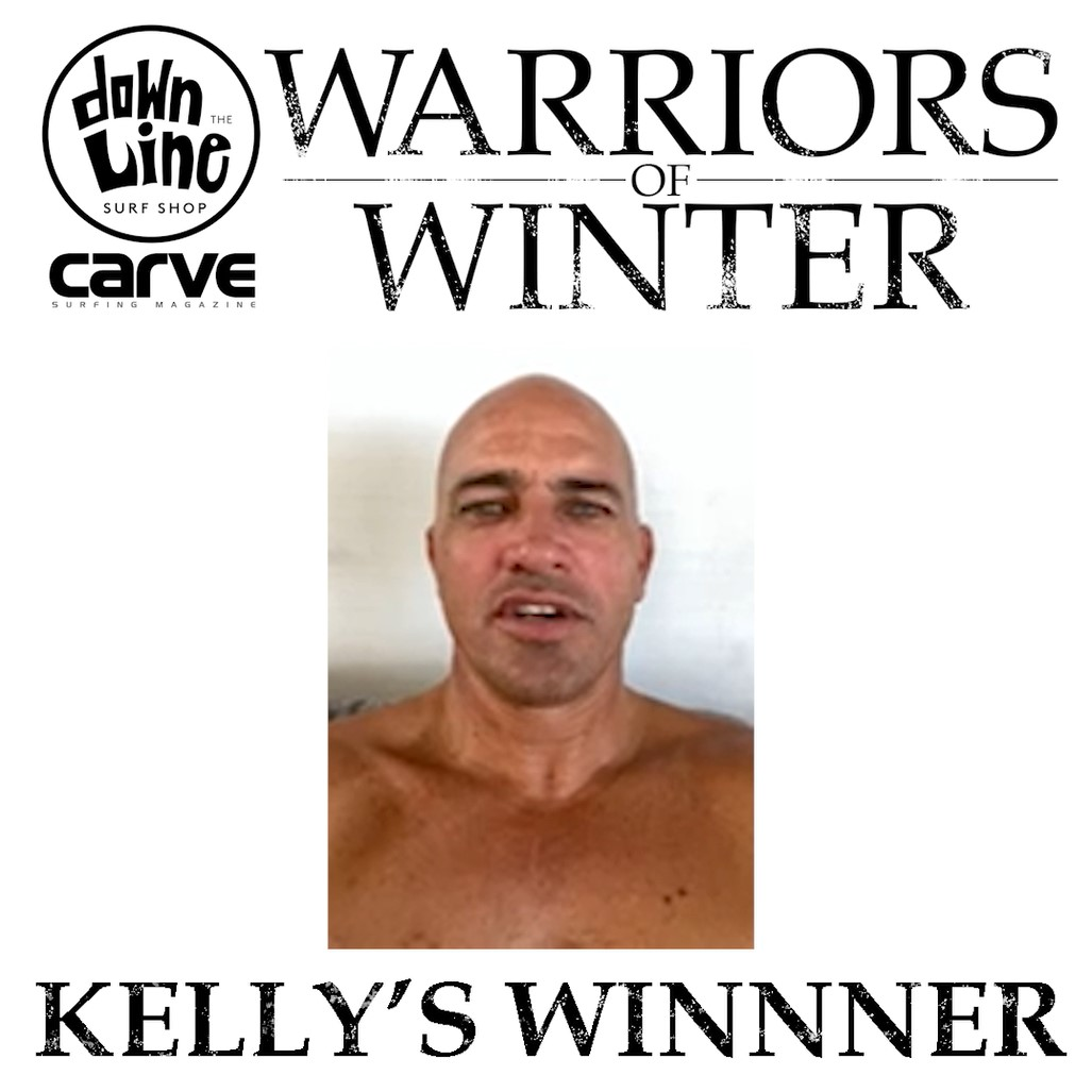 Kelly Slater picks our Warriors of Winter competition winner!