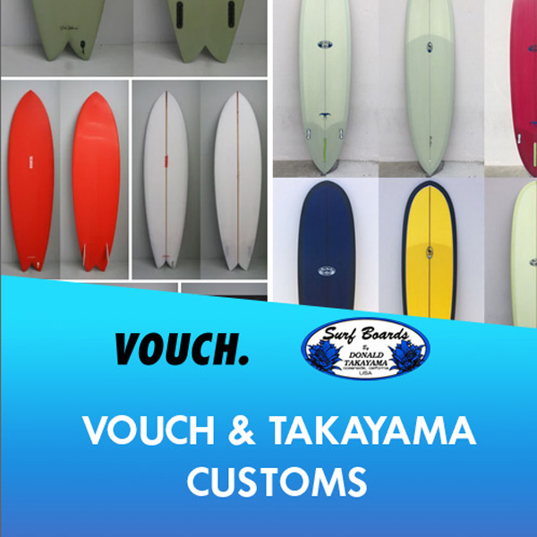 Vouch & Takayama customs for spring 2022!