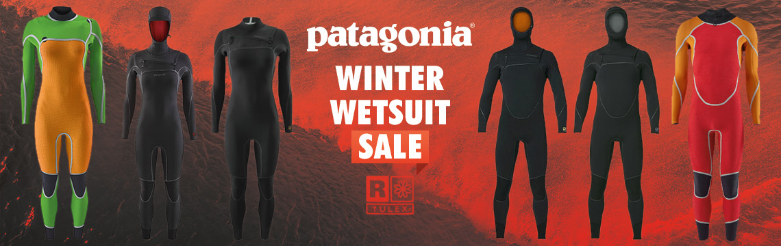 Patagonia winter wetsuit sale now on