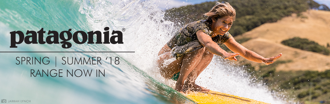 New Patagonia Clothing for Summer 2018 in stock now