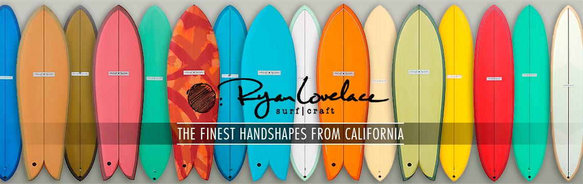 Ryan Lovelace new surfboards in stock
