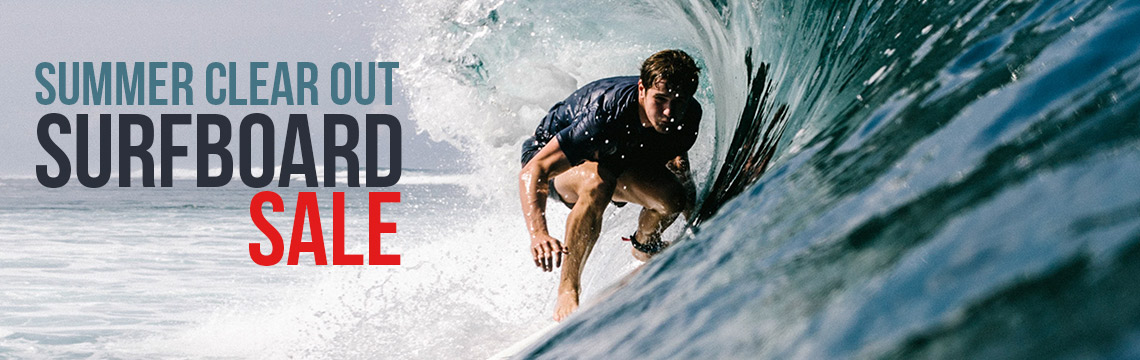 Sale on Summer surfboards
