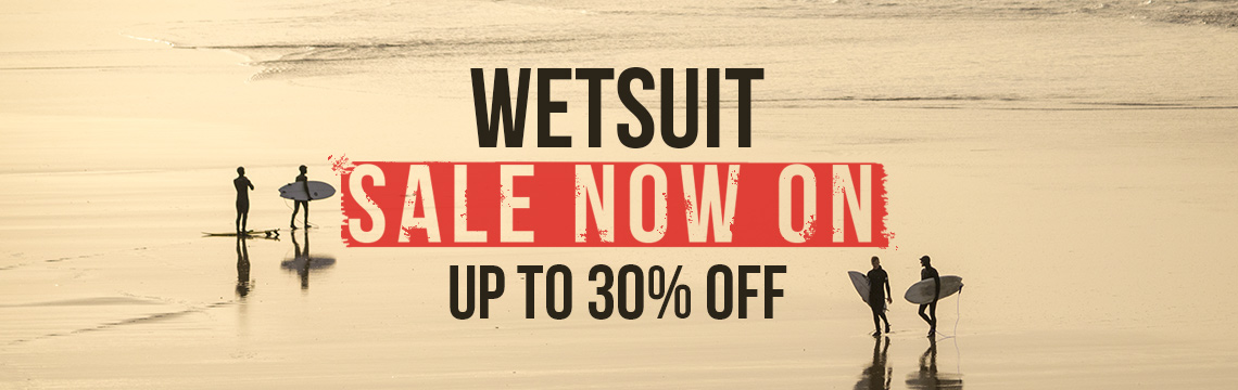 Wetsuit sale now on
