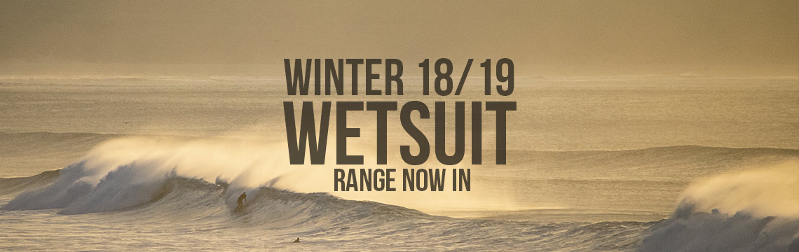 Autumn and Winter wetsuits in stock for 2019