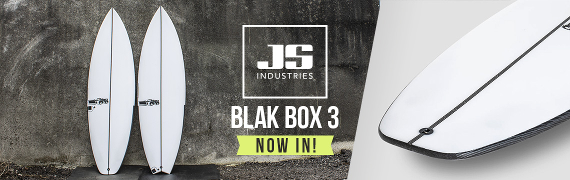 JS Blak Box 3 Surfboard now in stock