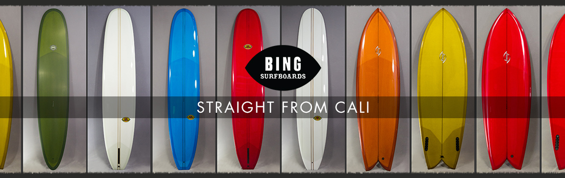New Bing Surfboards in for 2017
