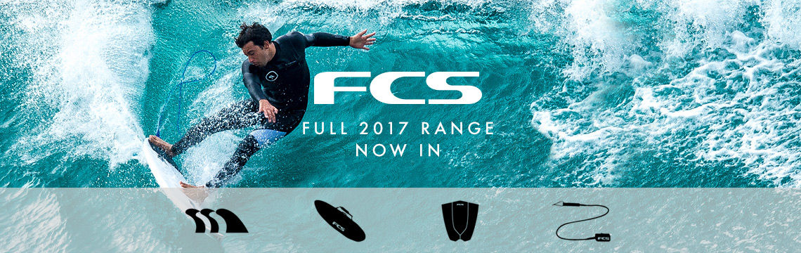 FCS surf fins and accessories