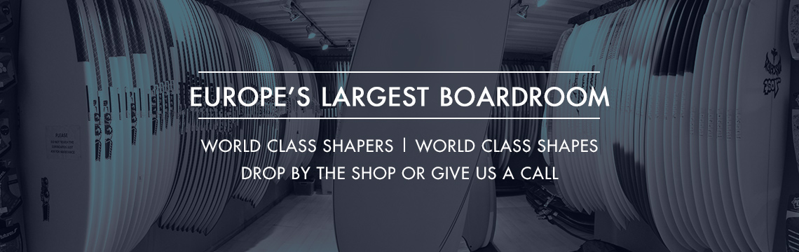 largest range of surfboards in Europe