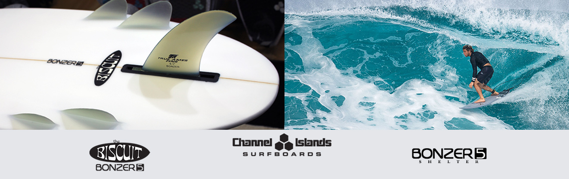 Channel Islands Bonzer surfboards
