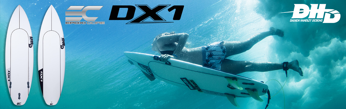 DHD surfboards are now in stock!
