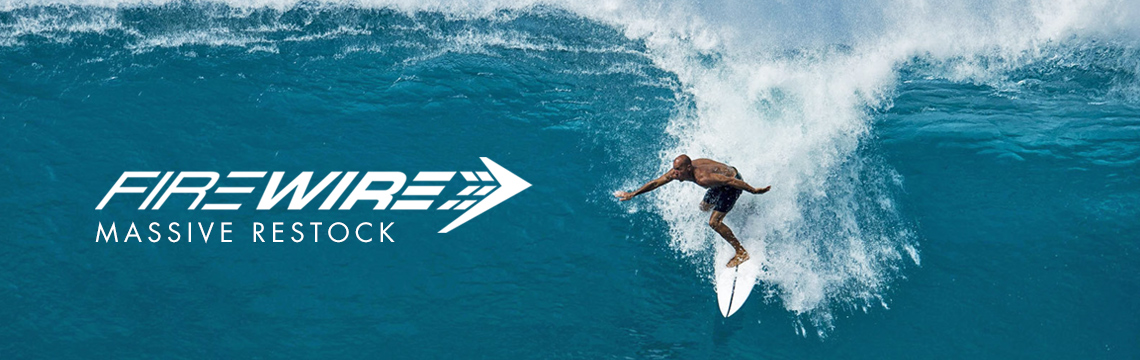 New Firewire surfboards in stock now