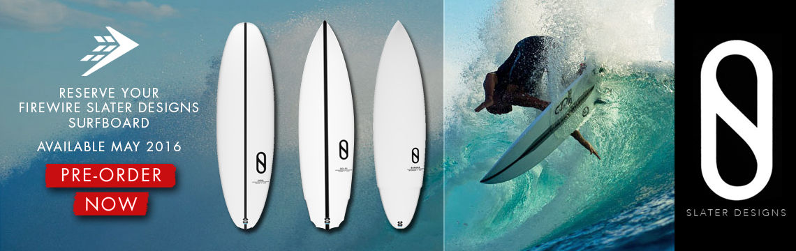 Firewire Slater Designs surfboards available for preorder