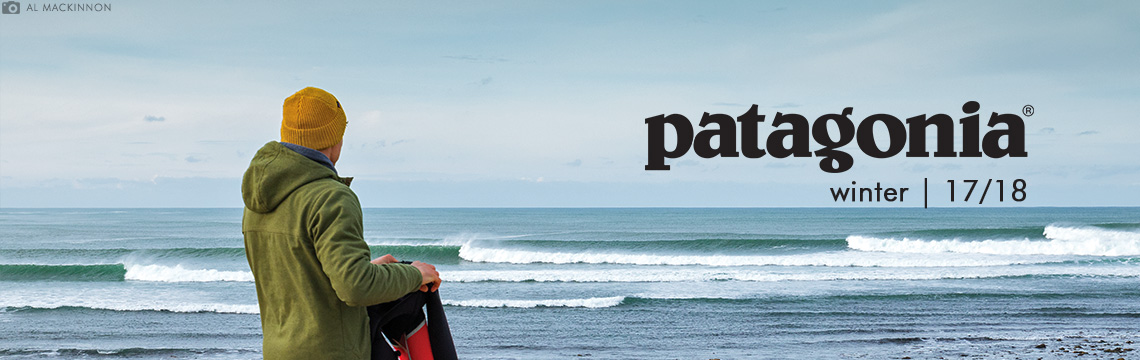 Patagonia clothing and wetsuits