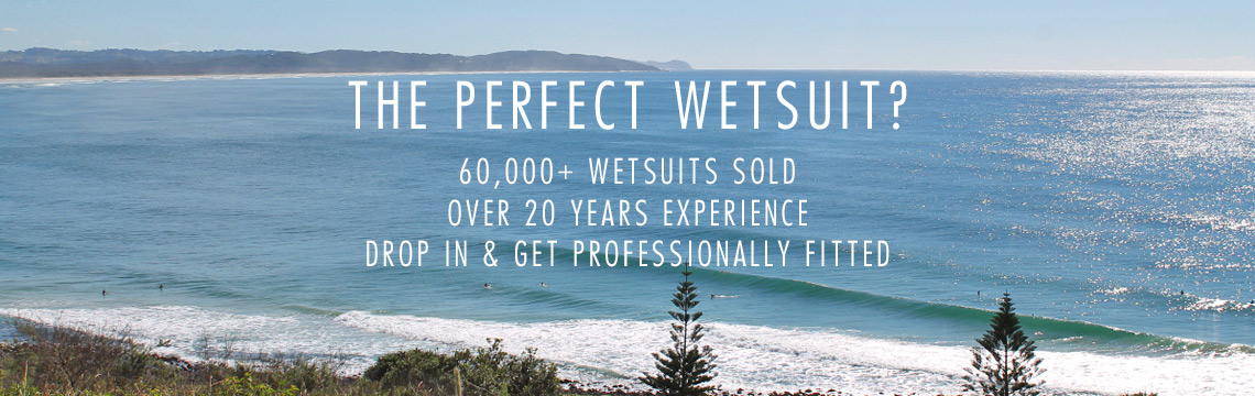 Wetsuit fitting advice and guidance