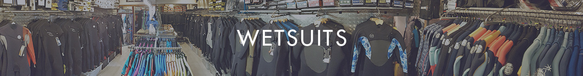 Winter and Summer wetsuits in stock now