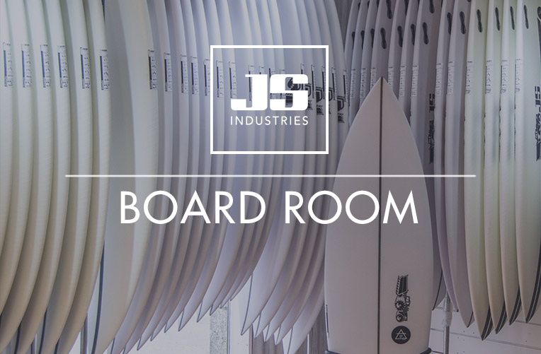JS Surfboards Board Room