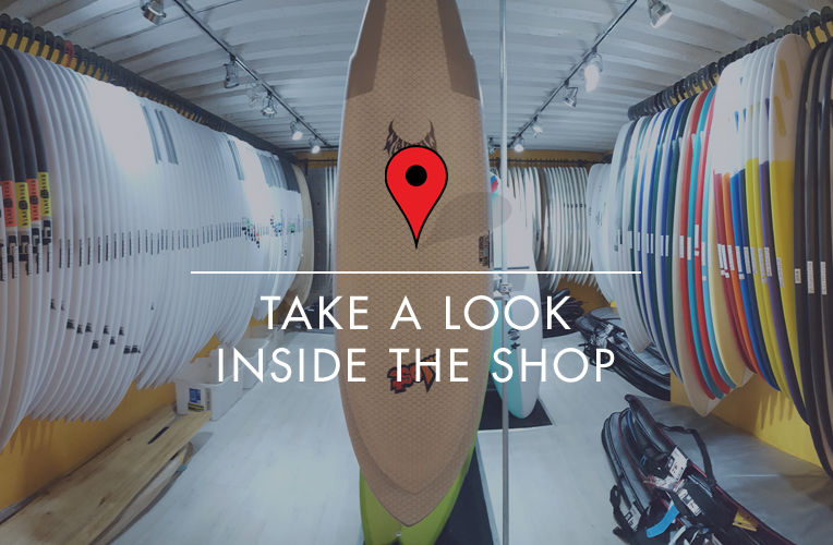 Down the Line Surf Co shop google view